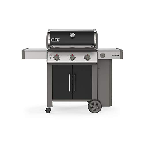 Weber 61015001 Genesis II E-315 3-Burner Liquid Propane Grill, Black - Assembly Free Gas Grill Grills Natural UDS