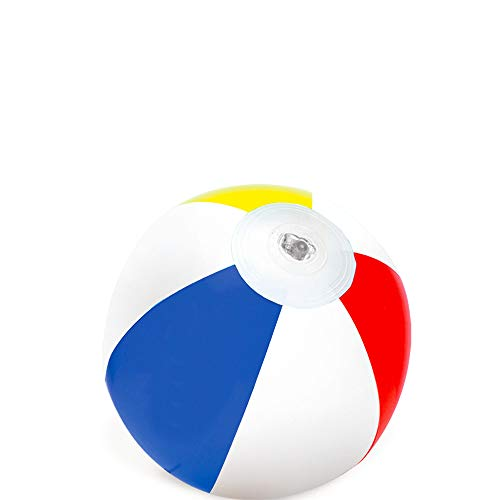 Amscan 3900083 1 Carat Primary Inflatable Ball Party Favour 7'