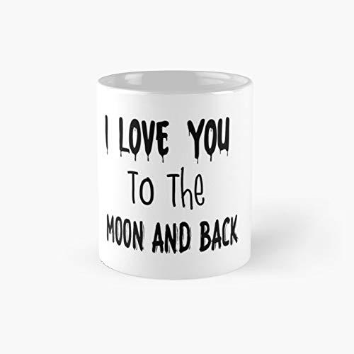 I Love You to The Moon and Back Classic Mug - 11,15 Oz.