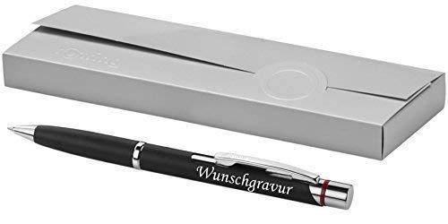 Grabado de rotring bolígrafo Modelo Madrid Negro con grabado láser grabado NUEVO