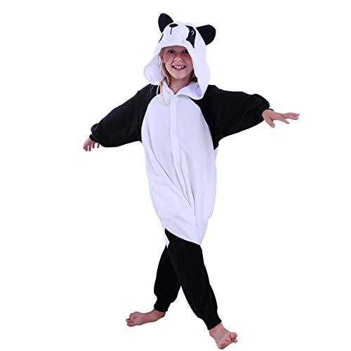 COXOPLAY W Kids Panda Onesie Pajamas Animal Cosplay Costume Halloween...
