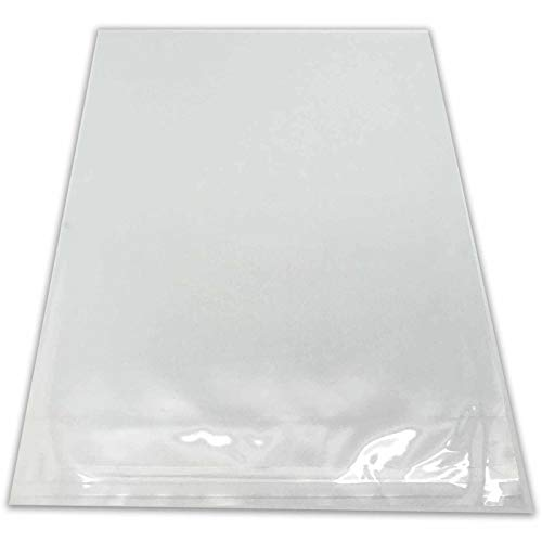 """The Display Guys, 100 Pcs 4 1/4"""" x 6 1/8"""" Clear Self Adhesive Plastic Bags for 4x6 inches Picture Photo Framing Mats"""