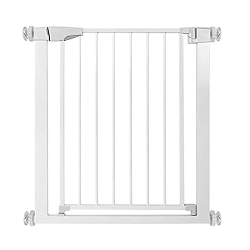 Safety Gates, Baby Safety Protection, Child Stairway Protection Fences, Pet Corridor Guardrail Gates, Isolation Fences, White(Size:61-68cm)