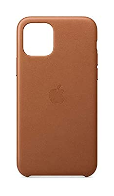 Apple Leather Case (for iPhone 11 Pro) - Saddle Brown