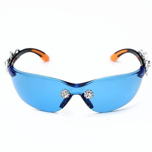 Qtlsgh Bendición de Gafas de Sol de Las Gafas de Sol contexto del Espejo del Espejo en Gafas de Sol