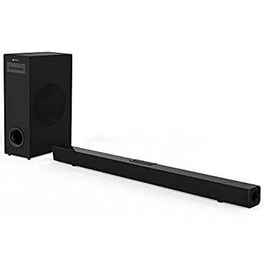 sound bar with subwoofer (36'')