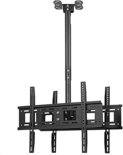 YYAI-HHJU Soporte para TV, Soporte para TV, Soporte para Techo, Soporte Universal para Monitor Inclinable Y Giratorio, También para Led Curvo 4K / 40-70 Pulgadas 400X400 Negro
