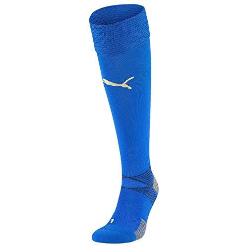 PUMA Herren FIGC Home und Away Replica Socken, Team Power Blue-Peacoat, 4