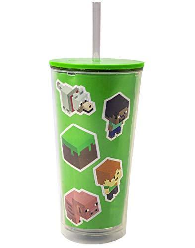 Minecraft Cup Botella de bebidas de regalo personalizada Creeper Zombie Kids
