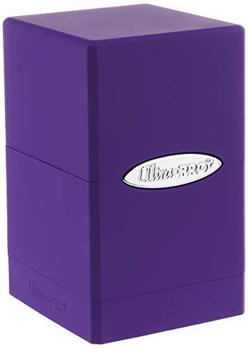 Ultra Pro Purple Satin Tower Deck Box