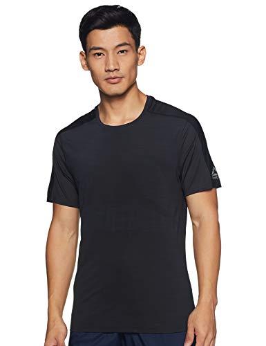 Reebok Activchill Vent Move tee Camiseta, Hombre, Negro, S