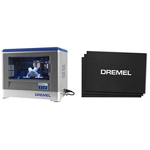 Dremel Idea Builder 3D Printer and 3D Printing BT20-01 Build Sheets (Pack of 3) bundle