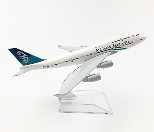 Modelo de Avión Air New Zealand Boeing 747 (6,3 Pulgadas / 16 cm) Avión de...