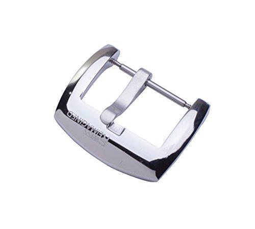 SWISS REIMAGINED fibbia Lucida per cinturino per orologi in acciaio inox – Signature Edition - 22mm