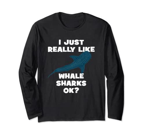 Walhai Haifisch Langarmshirt