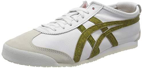 Onitsuka Tiger Mexico 66 1183a013-100, Zapatillas Hombre, Blanc Vert Sapin, 37 EU