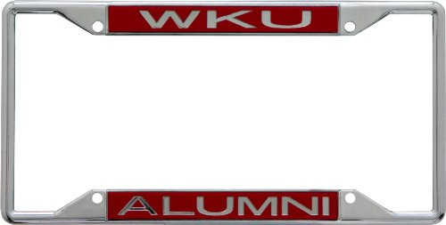 Stockdale NCAA Western Kentucky Hilltoppers License Plate Frame Alumni