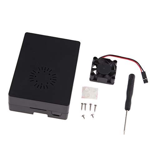 Toygogo Caja de ABS con Ventilador Externo para Raspberry Pi 3 / 3B +