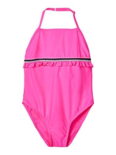 NAME IT Mädchen NKFZASHANA Swimsuit Badeanzug, Sugar Plum, 146-152