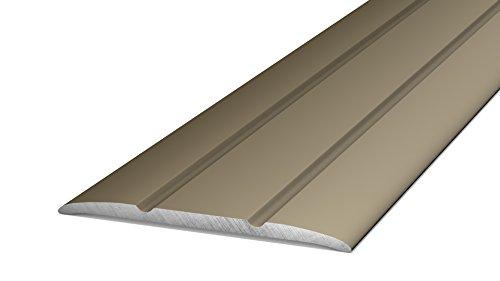 Prinz Übergangsprofil 132 Aluminium selbstklebend - 2,70m - Edelstahl Matt