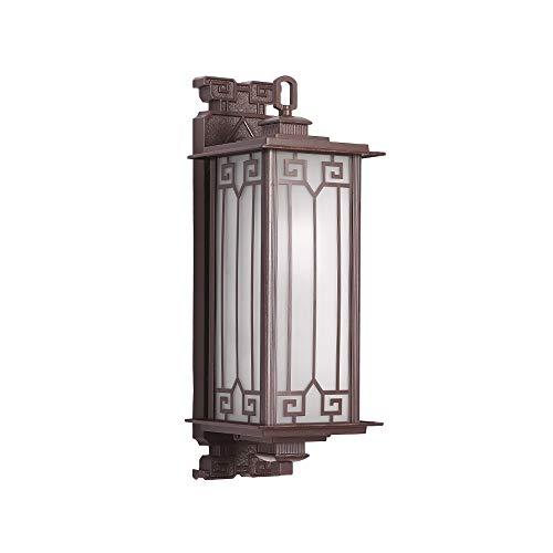 Pumnple De pared exterior de iluminación Linterna de aluminio de cristal a prueba de agua IP54 luz del pórtico Pórtico decoración lámpara de pared de la lámpara de la Comunidad for Villa Jardín Garaje
