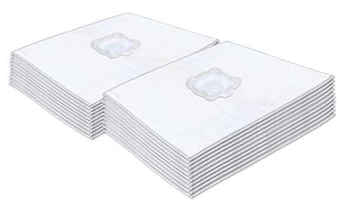 Invest 20 Staubsaugerbeutel kompatibel mit Rowenta WONDERBAG WB484720 WB406120