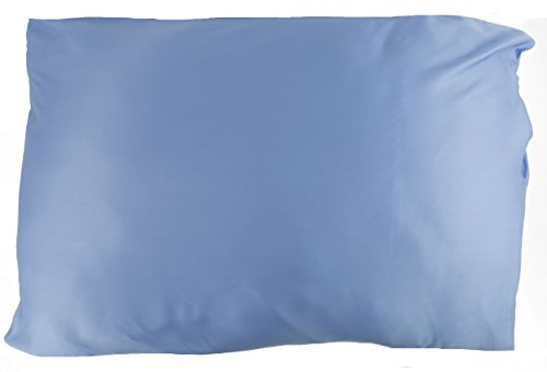 Hotel Sheets Direct 100% Bamboo King Pillowcases 20 x 40 inch - Better Than Silk, Cool, Soft, Great for Hair, Hypoallergenic - Light Blue
