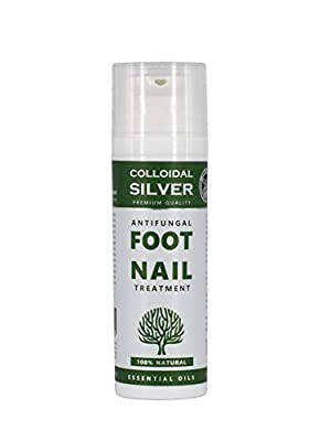 Natures Greatest Secret - Peppermint Foot Restore - Antibacterial, Antifungal Colloidal Silver and Moisturising Coconut Oil Formula - Soothing Skin Treatment - 50ml by Optimised Energetics
