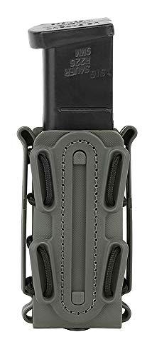 KRYDEX 9mm Pistol Mag Pouch Softshell Magazine Pouch Tactical Magazine Holder Short (Foliage Green)
