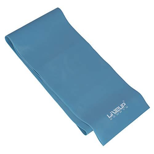 Faixa Elástica 3, Forte, 1200 x 150 x 0.6 mm, LiveUp, Azul