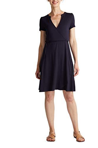 Esprit Damen 040EE1E350 Kleid, 400/NAVY, XL