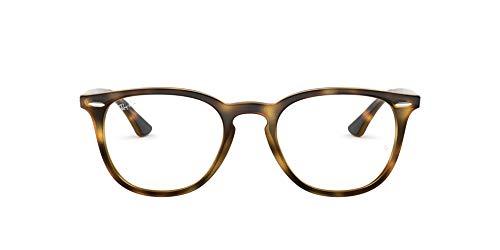 Ray-Ban 0RX7159, Monturas de Gafas Unisex Adulto, Marrón (Havana), 52