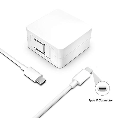 29W 30W USB-C Charger for MacBook Air 2018 Retina 13 inch Retina 12 inch 2017 Early 2015 2016 Laptop with 7.5ft Extra Long Type C Charging Cable AC Power Supply Adapter Cord