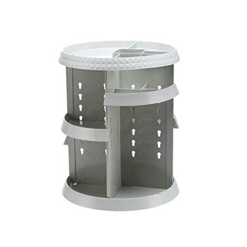 WXYDX Caja De Almacenamiento De Cosméticos Caja De Acabado para El Cuidado De La Piel De La Joyería Escritorio De Piedra De Ladrillo Estante Giratorio
