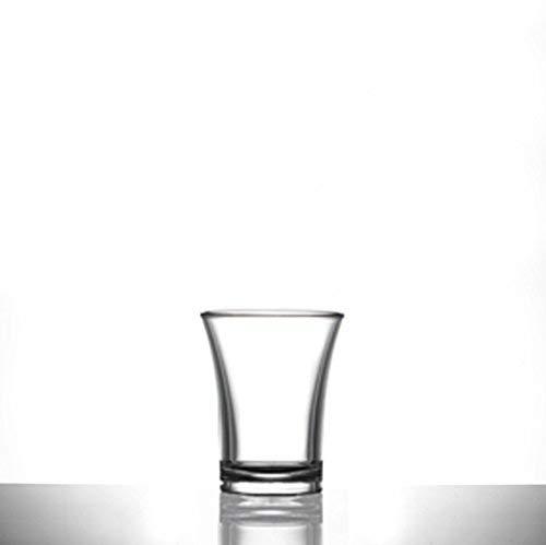 Verres à shot en plastique - 100 à 25 ml/2,5 cl - Gamme de verres transparents en polystyrène