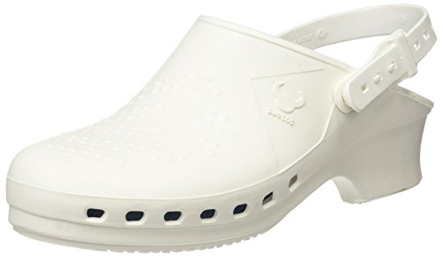 Suecos® Balder - Zueco autoclavable (esterilizable), Blanco Blanco (White), 37/38 EU