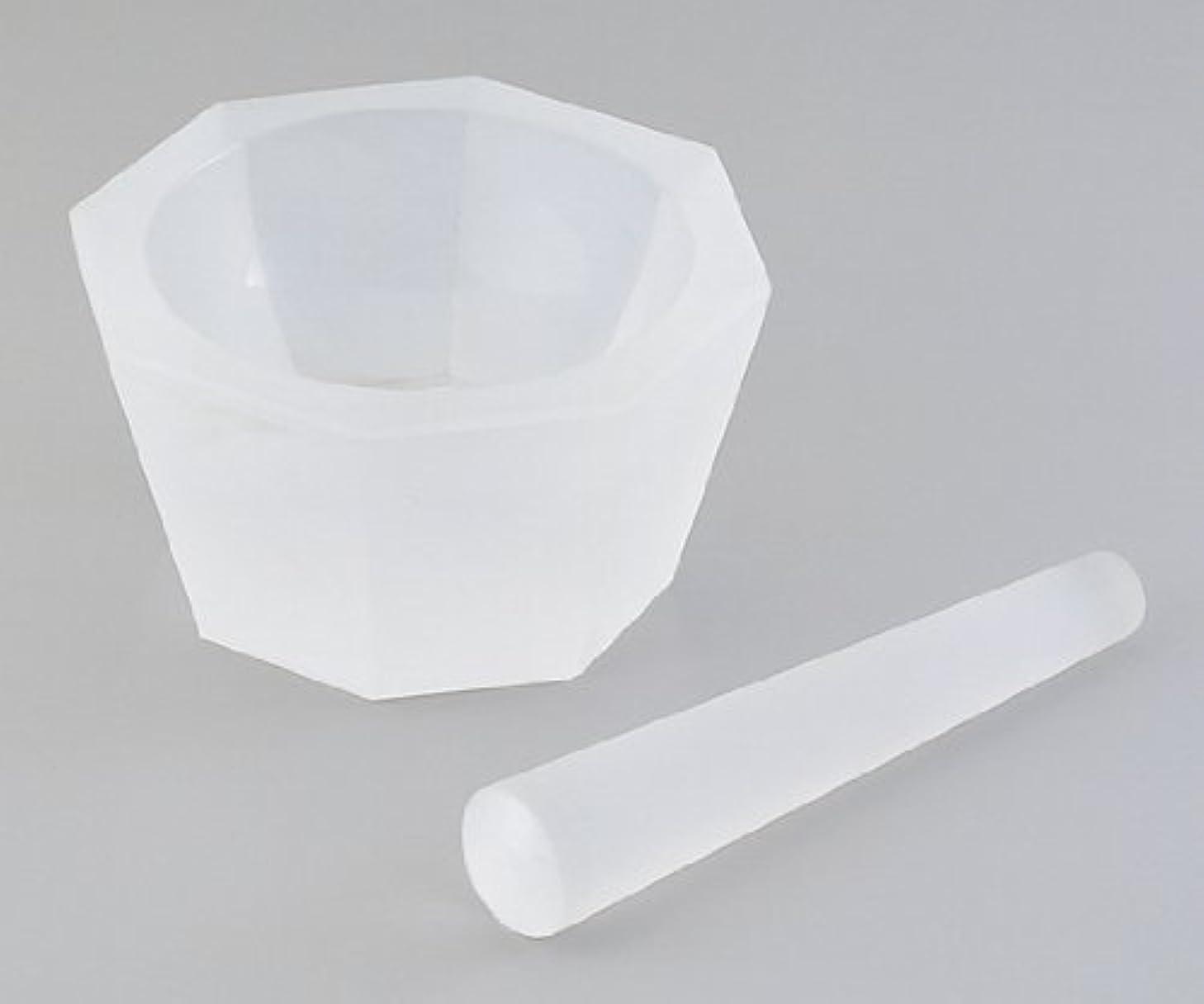 いわゆる柔らかさ転倒石英ガラス製乳鉢 φ65×φ80×30