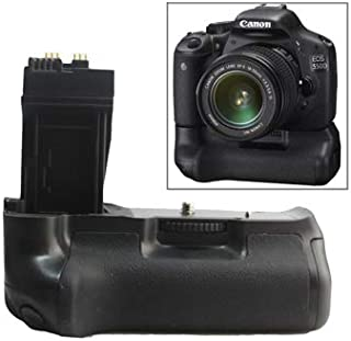 Miss flora Camera accessories .Battery Grip for Canon EOS 550D with Two Battery Holder
