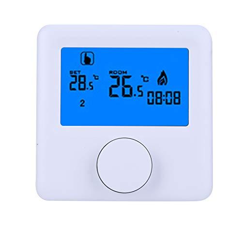 Controlador Inalámbrico Digital Pantalla LCD, Controlador Programable de Temperatura para Sistema de...