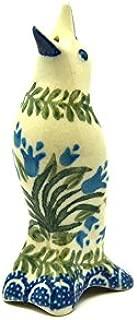 Polish Pottery Pie Bird - Blue Bells