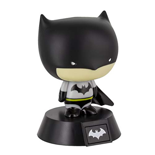 Paladone - Lampara Dc Comics Mini Batman 3D, Negro