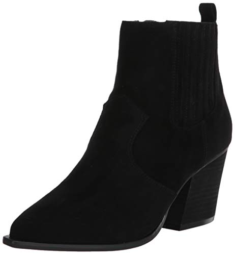 The Drop Women's Sia Pointed Toe Western Ankle Boot