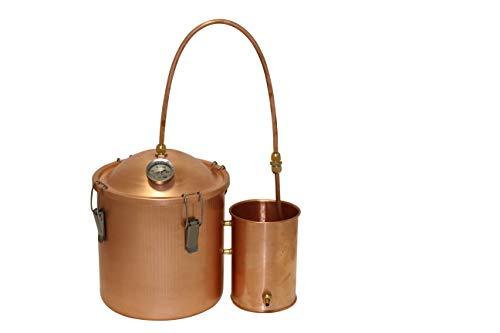 3 Gallon Copper Pot Moonshine Still Boiler Home Brew Kit Water Distiller