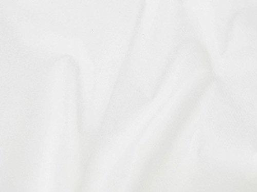 Dalston Mill Fabrics – Tessuto di Feltro Acrilico, al Metro, Larghezza 147 cm, Acrilico, White, 3 m