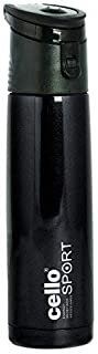 Cello Striker Stainless Steel Bottle, 500ml (Assorted) Black