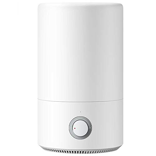 Air Humidifier,Silver Ion, Light Sound Humidification, Easy To Add Water, 4L Large Capacity, Small And Small Space, Dual Protection System
