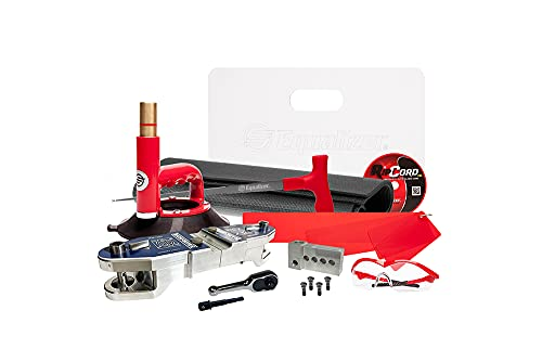 Equalizer Industries Transformer Kit Drill Powered auto Glass Removal Tool, Dual-Cutting, Cord Removal Tool, Quarter Glass Removal Tools