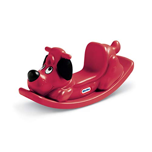 Little Tikes Red Rockin' Puppy with Easy Grip Handles