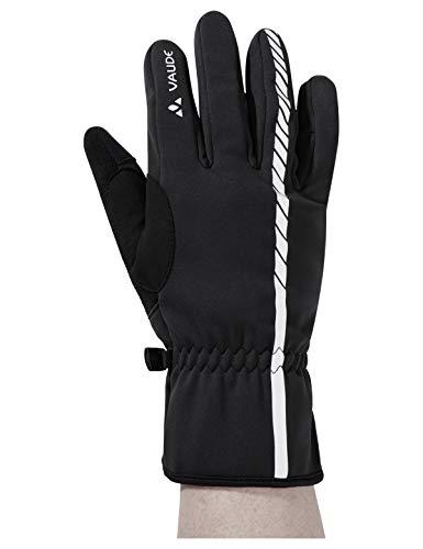 VAUDE Accessories Kuro II, wetterfeste Handschuhe für Radsportler, black, 8, 41641