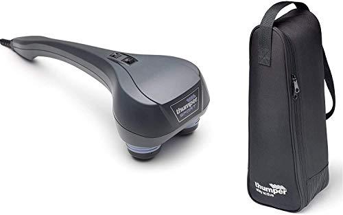THUMPER SPORT MASSAGEGERÄT + TRAGETASCHE COMBI DEAL - Massagegeräte für den ganzen Körper - Elektrisch Handmassagegerät für Selbstmassage - Inklusive einer speziellen Tragetasche